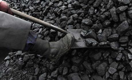Coal digging