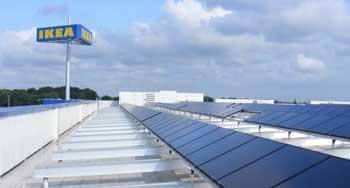 Ikea solar roof
