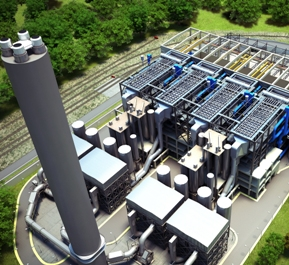 Cheshire combined heat and power (CHP) plant