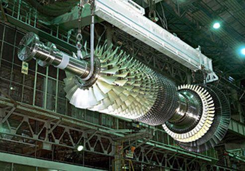 M501J gas turbine