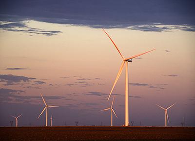 Siemens wind Texas