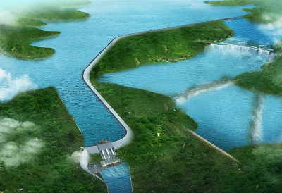 Soubre hydropower project