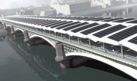 Blackfriars solar bridge