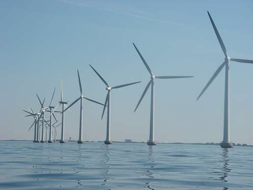 Siemens off shore wind turbine