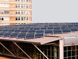 Rooftop on-site solar