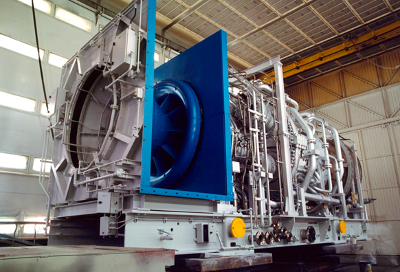 GE distributed power 6fa turbine