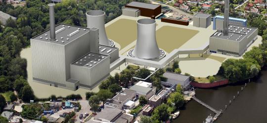 Lichterfelde CHP plant, Berlin, Germany