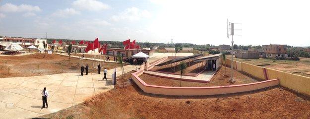 Water treatment facility, Kenitra, Morocco