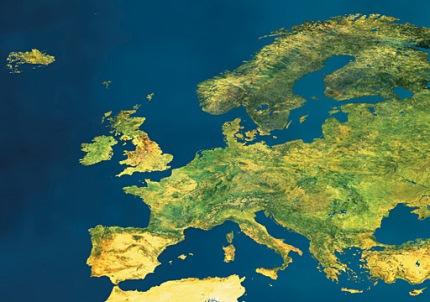 EU satellite view