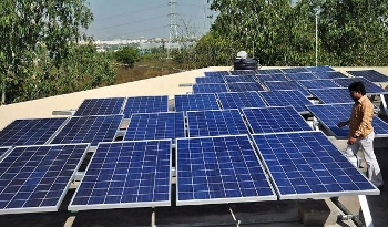 Delhi's Dwarka Sector 21 Metro station solar plant