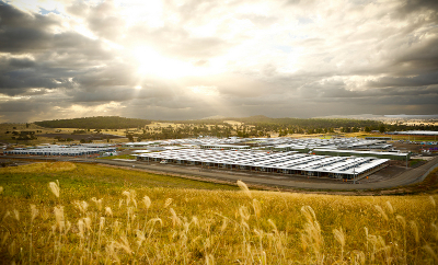 Laing-ORourke solar diesel hybrid power