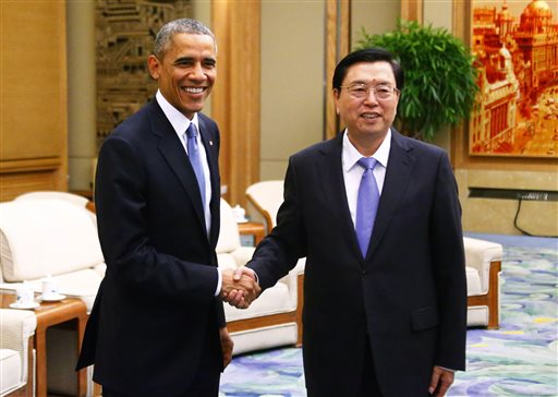 Obama and Jinping