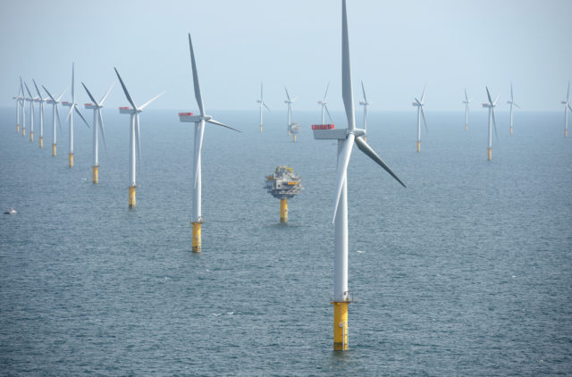 Sheringham wind park