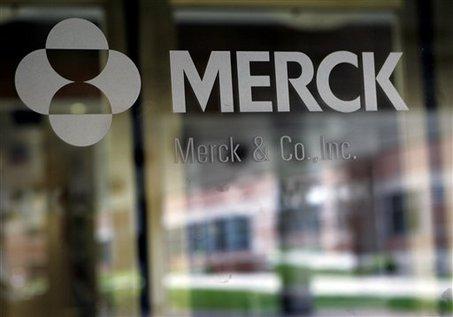 Merck sign