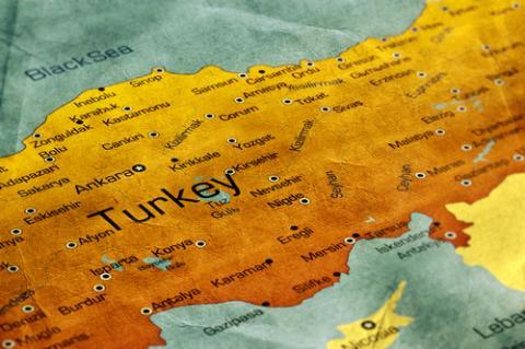 Turkish map