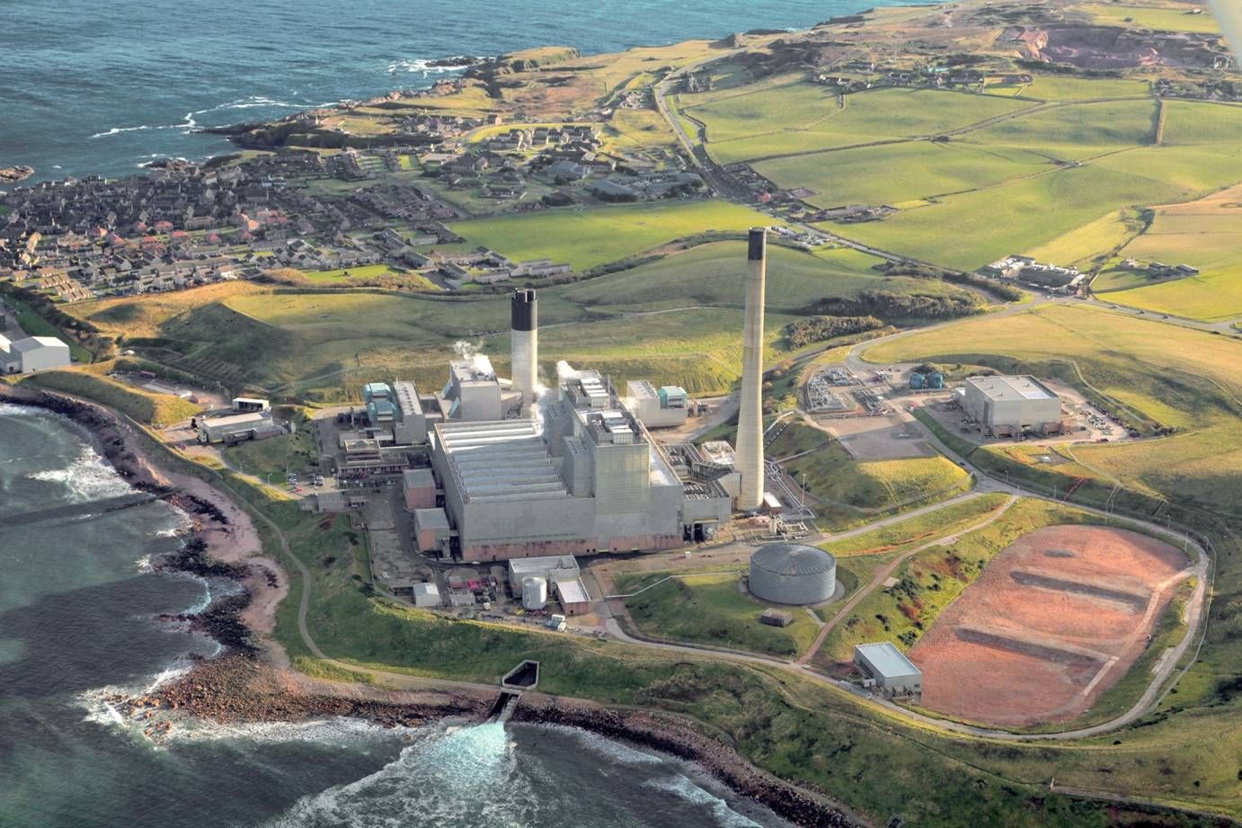 Peterhead power plant, which experienced start-up issues last week