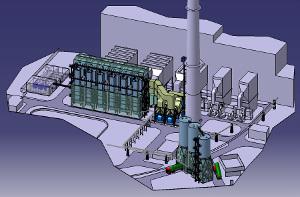 Combined heat and power - flue gas desulphurisation