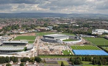 Manchester City Football Club's new £200m training ground