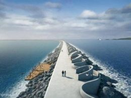 Swansea tidal lagoon project