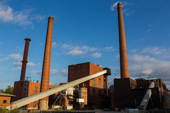 Nokia biomass-based combined heat and power (CHP) plant