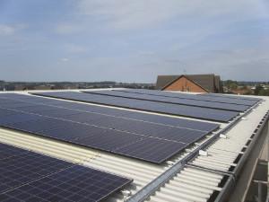 On-site solar power