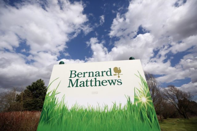 Turkey farm Bernard Matthews