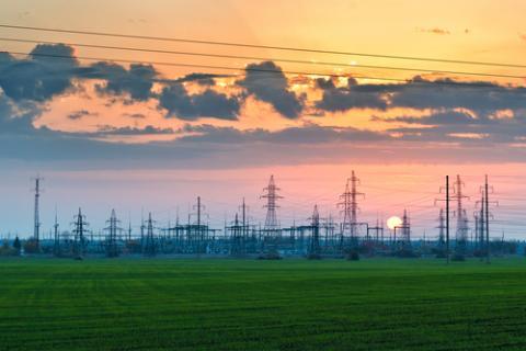 Power grid pylons