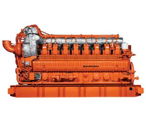 GE Waukesha gas engine