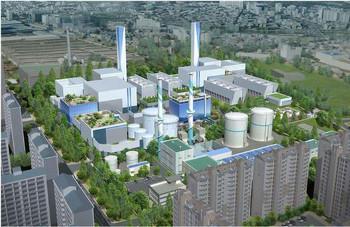 Anyang district heating plant, South Korea