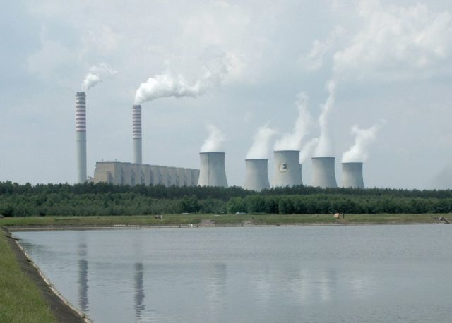 Belchatow coal-fired power plant