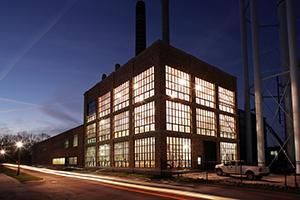Notre Dame CHP plant