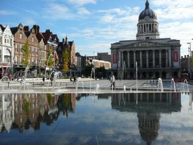Nottingham city