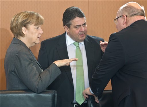 Merkel and Gabriel