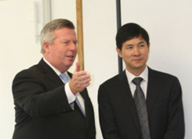 Chinese district heating firm visits US IDEA