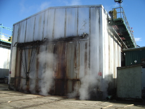 West Fraser sawmill biomass