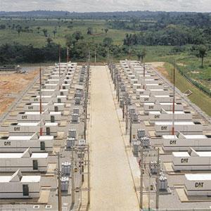 Rental on-site power