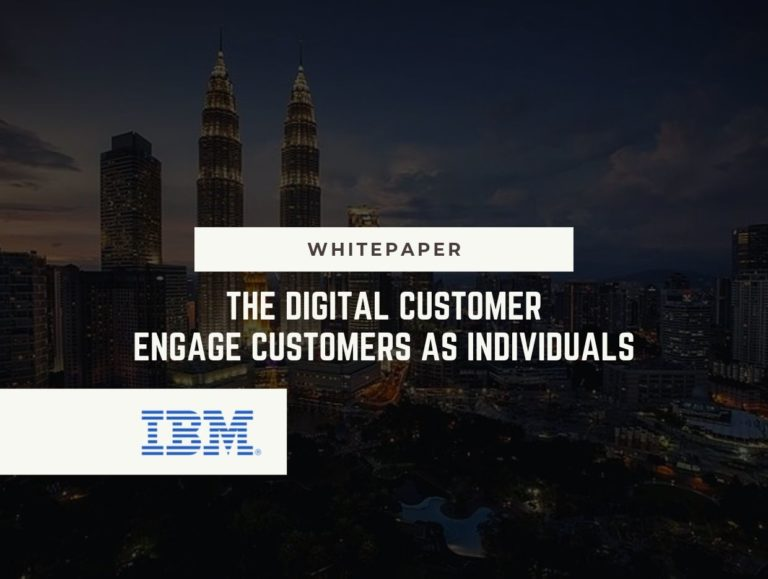The Digital Dustomer – Engage Customers as Individuals
