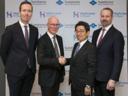 Sumitomo and Highview in pact to roll out cryogenic energy storage globally