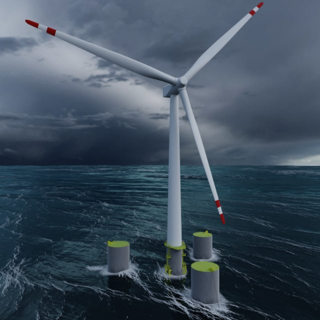 floating wind power