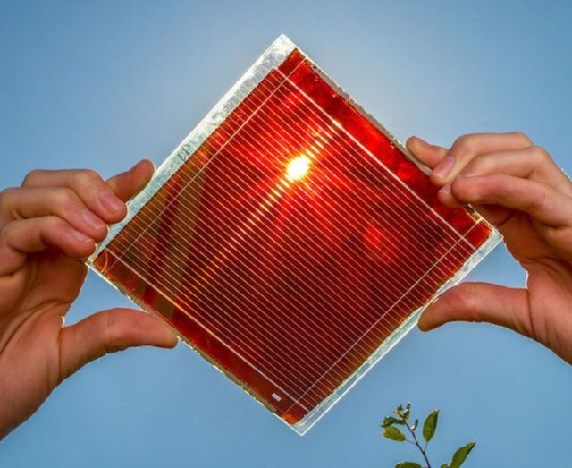 solar pv perovskite cells