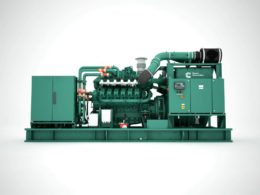 Cummins C25G gas generator