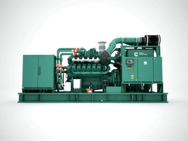 Cummins C25G gas generator