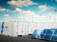 energy storage container