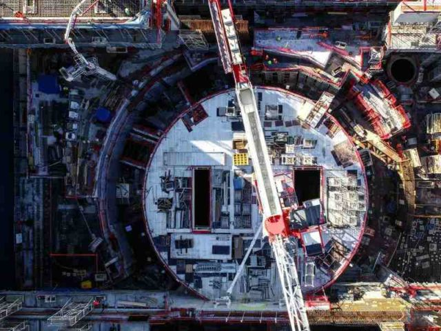 ITER fusion reactor