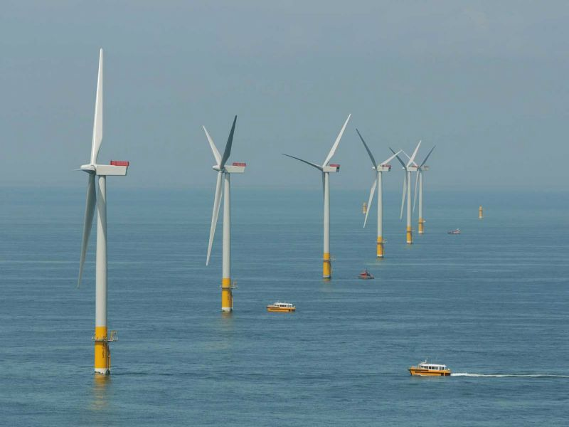 RWE offshore wind farm