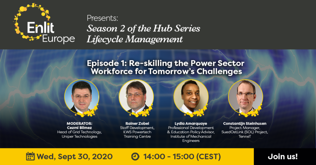 Re-skilling the Power Sector Workforce for Tomorrow's Challenges