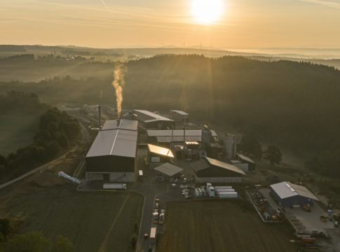 Siemens energy park in Wunsiedel where it will build a new hydrogen production plant alongside an energy storage facility.