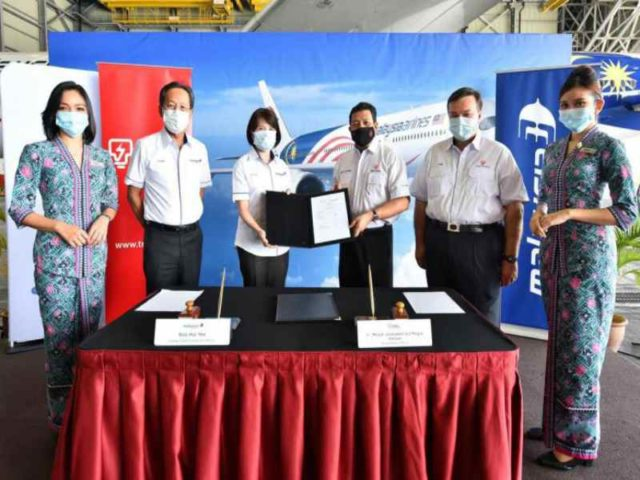 TNB and Malaysia Airlines