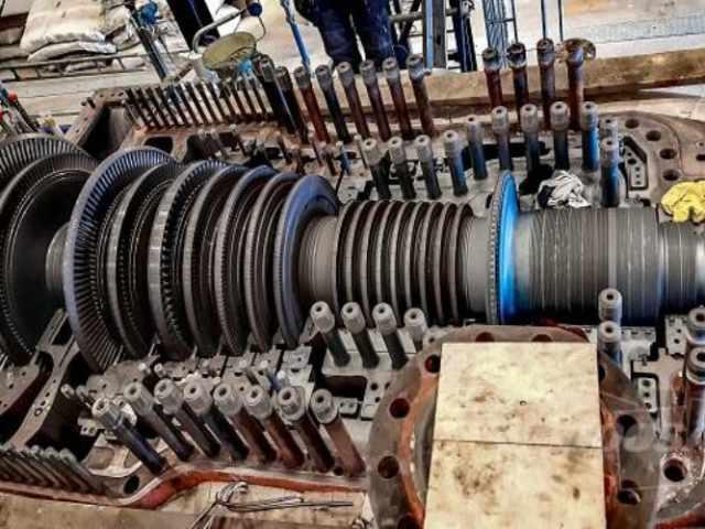 Sandvik 3 steam turbine