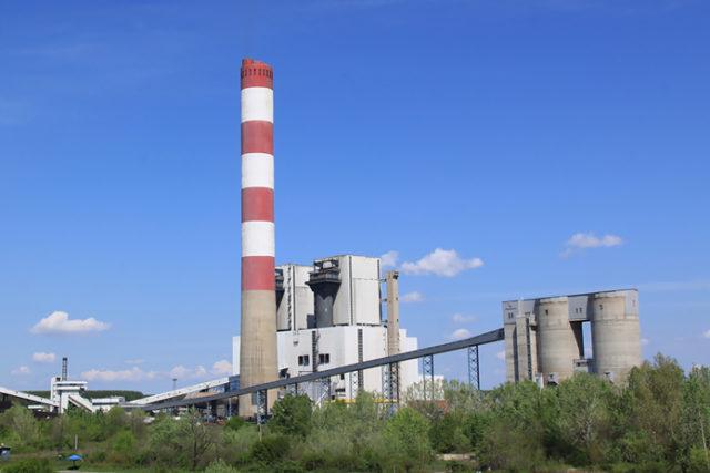 Nikola Tesla B coal-fired station